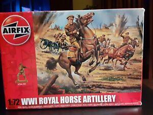 Airfix Vintage Classic 1/72 WWI Royal Horse Artillery