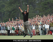 Phil Mickelson - 2004 Masters Championship, 8x10 Color Photo