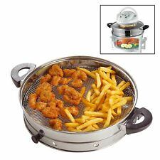 Air Fryer Ring Attachment Accessory for Halogen Oven Frying Grilling Cooking