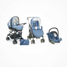 Poussette Trio Cam Tris Bleu