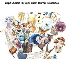 38 pcs Magic Divination Stickers for junk bullet journal notebook Diary Decor K6