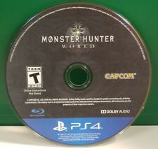 Monster Hunter: World (Sony PlayStation 4, 2018) DISC ONLY 11735