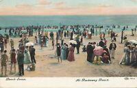 ROCKAWAY BEACH QUEENS NY - Beach Scene - 1908