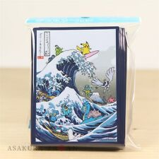 Pokemon Card Game Sleeve Japanese Traditional Design Ukiyo-e 64 sleeves Hokusai