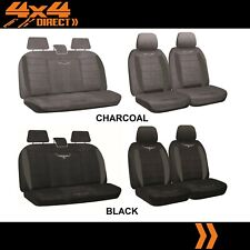1 ROW CUSTOM RM WILLIAMS SUEDE SEAT COVERS FOR TOYOTA CAMRY 87-91 A