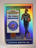 2019-20 Contenders The Finals Ticket #27 Dennis Smith Jr. /65 - New York Knicks