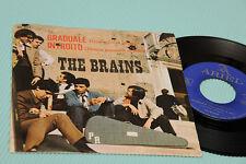 "THE BRAINS 7"" GRADUALE ORIG ITALY 1966 EX !!!!!!!!!!!!!!!!"