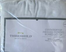 Threshold Countertop Ironing Board Cover Pad Light Stone Hearth, New