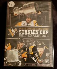 PITTSBURGH PENGUINS STANLEY CUP 2017 CHAMPIONS, DVD, NEW IN PLASTIC