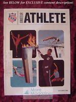 AMATEUR ATHLETE AAU Magazine October 1969 JUNIOR OLYMPICS
