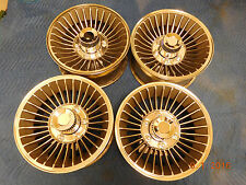 SET WESTERN 15x7 TURBINE 6-LUG WHEELS CHEVY TRUCK DATSUN TOYOTA MAG 30 SPOKE 70s