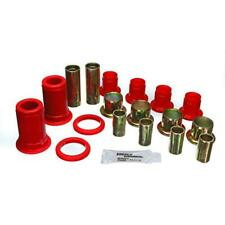 Energy Suspension Control Arm Bushing Kit 3.3150R; Red Polyurethane  Front