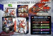 Xbox 360 Street Fighter vs X  Tekken Special Collectors Edition Spiel NEU