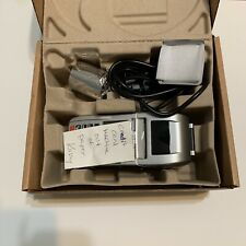 First Data Fd-130 Credit Card Reader With Paper And Privacy Screen Untested