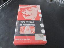 TOTO' PEPPINI e LA MALAFEMMINA VHS nuova sigillata Corriere della Sera