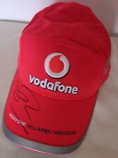 Jenson Button F1, World Champion original signed McLaren baseball cap