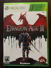 Dragon Age II (Microsoft Xbox 360, 2011) w Case & Manual +2 Inserts Very Nice!