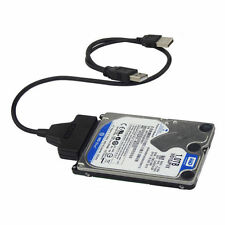 USB2.0 to SATA 22Pin Cable for 2.5inch HDD Hard Drive Solid State Drive KY