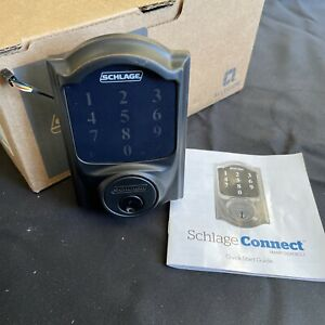 Schlage Connect Security Hasp WiFi with Camelot Edge Replacement Module
