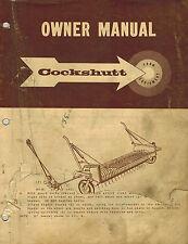COCKSHUTT PICK-UP SP  COMBINE OWNER'S  MANUAL