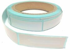 1000 RF Checkpoint® System Compatible, Cosmetic Label 15x52mm Plain White