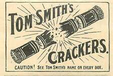 1908 Tom Smith's Crackers! See The Name On Every Box