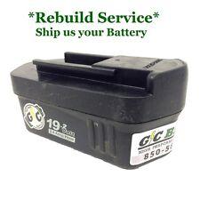 Porter Cable 19.2 Volt 8923 Battery REBUILD Service: WE REBUILD YOUR BATTERY