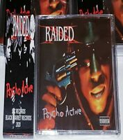 X-Raided Psycho Active [Cassette Tape, Reversible] Brotha Lynch Hung Rap Hip-Hop