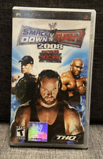 WWE SmackDown vs. Raw 2008 Featuring ECW (Sony PSP, 2007) Complete