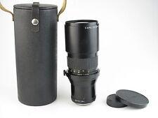 Für Praktica B Carl Zeiss Jena Prakticar 4/300 MC Objektiv lens 6 blades + case