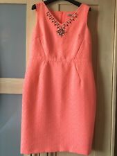 BNWOT:  size 14 Beautifully Stylish M&S Collection coral dress