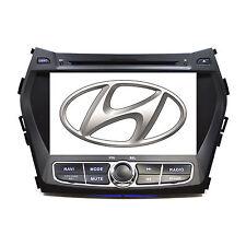Plug & Play In Dash GPS Navigation DVD Player Radio FOR 13-16  Hyundai Santa FE