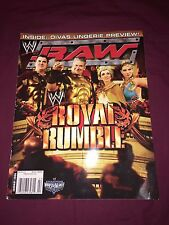 WWE RAW MAGAZINE January Jan. 2006 '06 Divas Lingerie Preview Torrie Wilson, etc