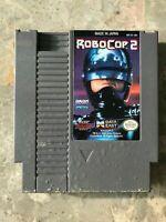 ROBOCOP 2 Nintendo NES 1991 Authentic Video Game