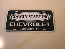 Coggin-Starling Chevrolet Kissimmee, Florida  Plastic Plate