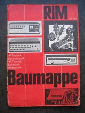 Radio-Rim baumappe 6 MHz large bande-oszillograf ROG 7 A avec retour -