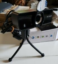 1080P HD USB Webcam for PC Desktop Laptop Web Camera w Microphone Tripod & Cover