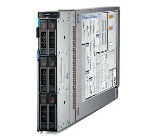 New Dell PowerEdge MX740c 2x 24C Platinum 8268 1TB Ram 4x 400GB SSD Blade Server