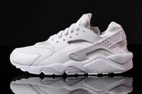 Nike Air Huarache Triple White Pure Platinum QS 318429-111 Men & Youth GS size
