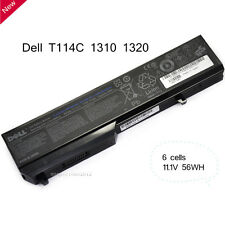 Genuine Battery For DELL T116C Vostro 1310 1320 1510 1520 2510 Original 6 cells