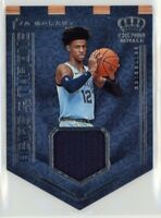 Ja Morant 2019-20 Panini Crown Royale RC Heirs to the Throne Jersey Rookie SP