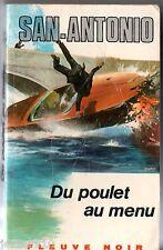 SAN-ANTONIO n°151 ¤ DU POULET AU MENU ¤ 1971 D