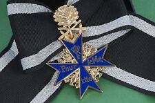 Ritterkreuz Pour Le Merite + goldenem Eichenlaub mit Schwertern 800 u. L/21