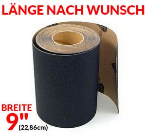 """BLACK DIAMOND Skateboard Griptape 9"""" < LÄNGE FREI WÄHLBAR > + Longboard, Cruiser"""