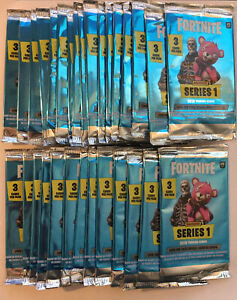 X30 Fortnite Series 1 Factory Sealed Pack Lot 3 Cards Per pack/