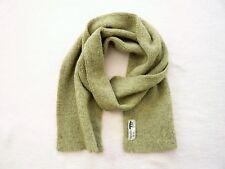 Inis Meain Ireland 100% alpaca long scarf Green VGC Unisex