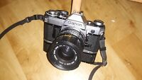 Canon AE-1 Classic Film SLR with Canon 35-70mm  lens + Power Winder + Battery