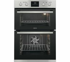Zanussi ZOD35802XK Built-in 'AA' Rated Stainless Steel Fan Assisted Double Oven