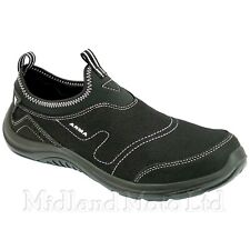 ARMA LIGHTWEIGHT STEEL TOE CAP SLIP ON SAFETY CLOGS TRAINERS SHOE WORK BOOTS A19