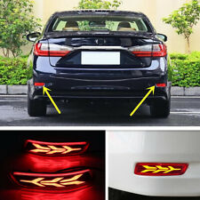 Rear Bumper Fog light decoration lamp led brake light for Lexus ES350 ES300h